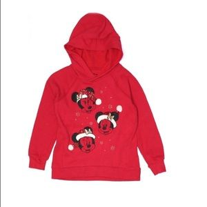 Disney red Pullover Hoodie size 5